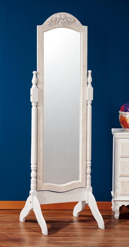 004457 Specchio con cornice con supporto 48x50 36235