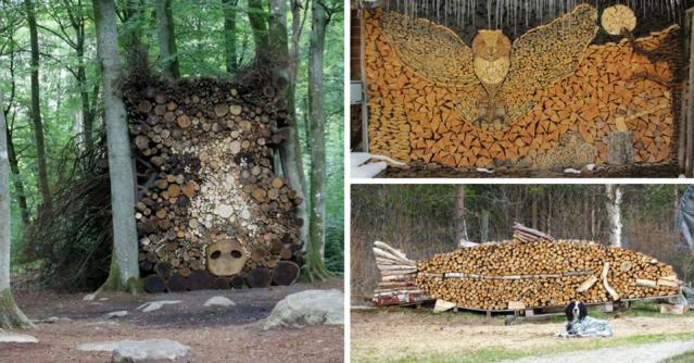 hout-stapelen