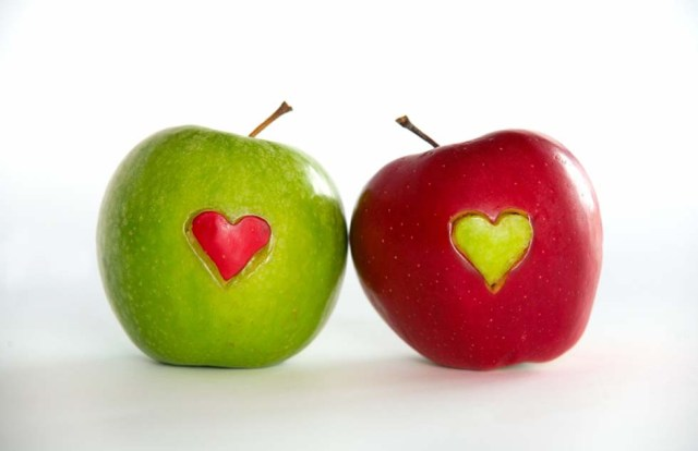Apples for lovers