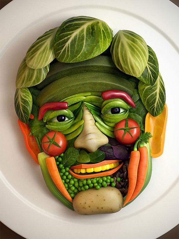 Food art: tutte le espressioni del cibo nell'arte, che diventa food art — Creando Idee